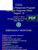 Presenter TCEQ Emergency Response Capabilities