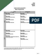 Calendario Matricula Presencial 2014-2 PUCP