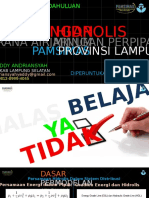 Pelatihan EpaNET PAMSIMAS Lampung Pendahuluan