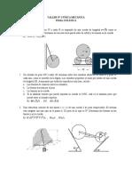 Taller 1- Estatica de La Partícula y Del Cuerpo Rígido