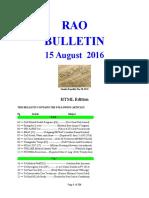 Bulletin 160815 (HTML Edition)