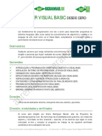 Ficha Curso Basico Programacion Visual Basic Desde Cero