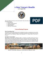 Vet State Benefits & Discounts - De 2016