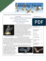 January 2010  Whistling Swan Newsletter ~ Mendocino Coast Audubon Society