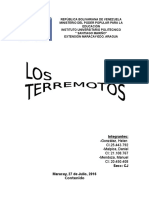 Trabajo Geologia - Terremotos