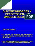 09 Discont. y Defectos
