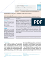 Asian Pacific Journal of Tropical Biomedicine Volume 3 Issue 4 2013 [Doi 10.1016%2FS2221-1691%2813%2960060-X] Kesarwani, Kritika; Gupta, Rajiv -- Bioavailability Enhancers of Herbal Origin- An Overvie