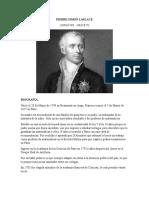 Biografia de Laplace