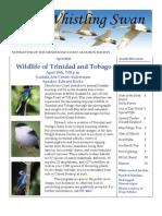 April 2010 Whistling Swan Newsletter ~ Mendocino Coast Audubon Society