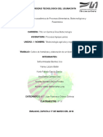 Cultivo de hortalizas y elaboración de un bioinsecticida