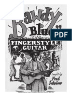 Fred Sokolov - Bawdy Blues for Fingerstyle Guitar