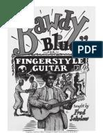 Fred Sokolov - Bawdy Blues for Fingerstyle Guitar