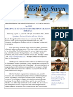 April 2009 Whistling Swan Newsletter ~ Mendocino Coast Audubon Society