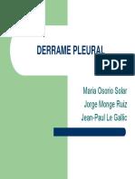 Derrame Pleural Exposicion