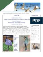 October 2009 Whistling Swan Newsletter ~ Mendocino Coast Audubon Society
