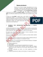 Maneras de Divorcio - Curso Constitucion 2015
