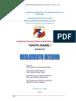 Reglamento Interno 2015 Santa Isabel