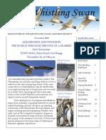 November 2009 Whistling Swan Newsletter ~ Mendocino Coast Audubon Society