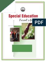 parents special education guide
