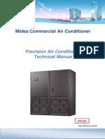 Midea Precision AC Technical Modelo 30Kw MAU030T1N1S1