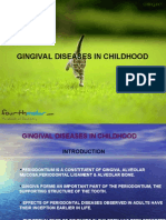 Gingival Diseases Perio