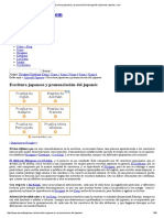 Escritura Japonesa y Pronunciación Del Japonés _ Aprende Japones