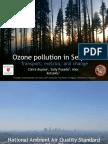 Ozone in Sequoia National Park