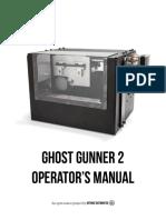 GG2 Operator's Manual