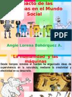 Evolución de las máquinas (herramientas de trabajo)