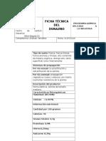 Ficha Técnica Del Durazno
