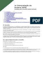 Consulta Sobre Interpretação Da Legislação Tributária (RFB)