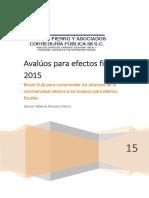 AVALÚOS+PARA+EFECTOS+FISCALES+2015