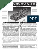 Sd.kfz. 251-9 Ausf. C
