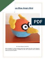 2012 Blue Angry Bird