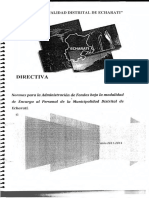 Directiva Para Encargos Internos 2012 - MDE