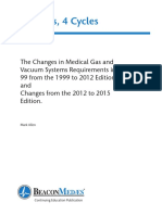 Changes in Medical Gas and Vacuum Systems by Mark Allen