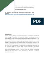La Antropología Filosófica de Arturo Ardao