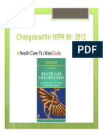 MN Healthcare Engineers Dec 2012 Changes to NFPA 99 2012