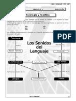I BIM- 5TO AÑO - LENGUAJE -  GUIA N°4 - FONOLOGÍA Y FONÉTICA