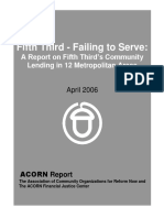 (2006) Fifth Third - Failing to Serve