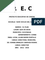 Pec Renovado Esc J.C .v. 2016