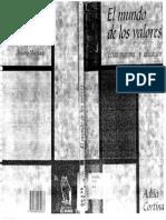 Cortina, Adela - El Mundo de los Valores.pdf