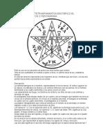 Significado Del Tetragrammaton Esoterico El Tetragrammatron o Pentagrama