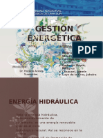 Energia Hidraulica Gestion
