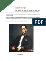 Biografía de Simón Bolívar Mel