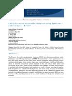 PRES (Posterior Reversible Encephalopathy Syndrome) and Eclampsia-Review