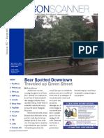 MonsonScanner Newsletter #2
