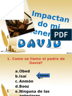 Cuestionario sobre el Rey David