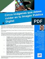Artículo 18. Cinco imágenes que debes cuidar en tu Imagen Pública Digital