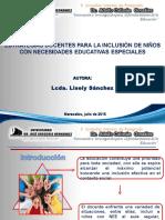 ESTRATEGIAS DOCENTES PARA LA INCLUSIÓN DE NIÑOS  CON NECESIDADES EDUCATIVAS ESPECIALES
